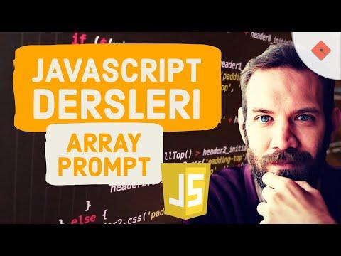 Java Ders 21  Array Prompt Komutu