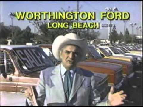 Cal Worthington Ford >> 1984 Cal Worthington Ford Long Beach Ca Commercials Youtube