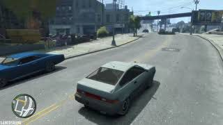 GTA 4 Mission #11 - Clean Getaway [PC, 1080p, 60fps]