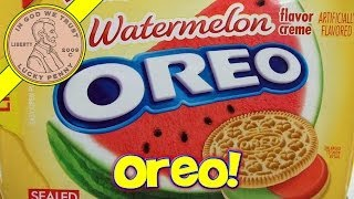 Nabisco Oreo Cookies - Limited Edition Watermelon Flavor Creme