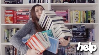 humongous end of the year book haul