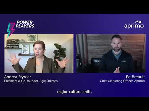 Agile now, fewer problems later | Andrea Fryrear – Aprimo Power Player