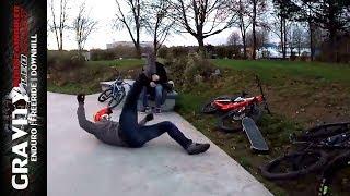 Der lustige Schwede & Outtakes | Best of MTB Vlog & Fails Compilation #2 | Leo Kast