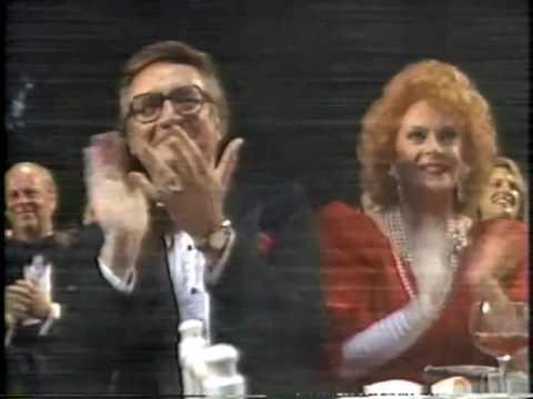 David Letterman Honors Steve Allen, TV Hall of Fame, April 21, 1986