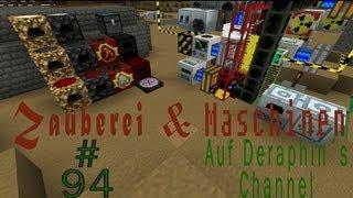 Minecraft - Lets Play Zauberei und Maschinen Part 94 - Hochbetrieb in den Rohren