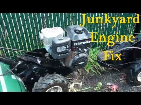 How to FIX a BRIGGS and STRATTON INTEK SIDE SHAFT Engine (Rototiller, Pressure Washer) ~ WON'T START
