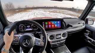 2020 Mercedes-AMG G63 - POV Driving Review
