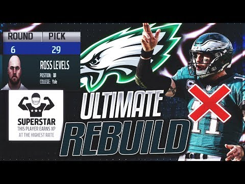 Eagles Don't Sign Wentz, Go With 6th Round Superstar QB | Eagles Ultimate Rebuild -- Ep. 20