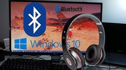 HOW TO Connect Bluetooth earphones TO Windows 10 PC