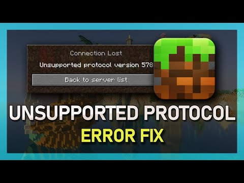 Minecraft - How to Fix Unsupported Protocol Verison - YouTube