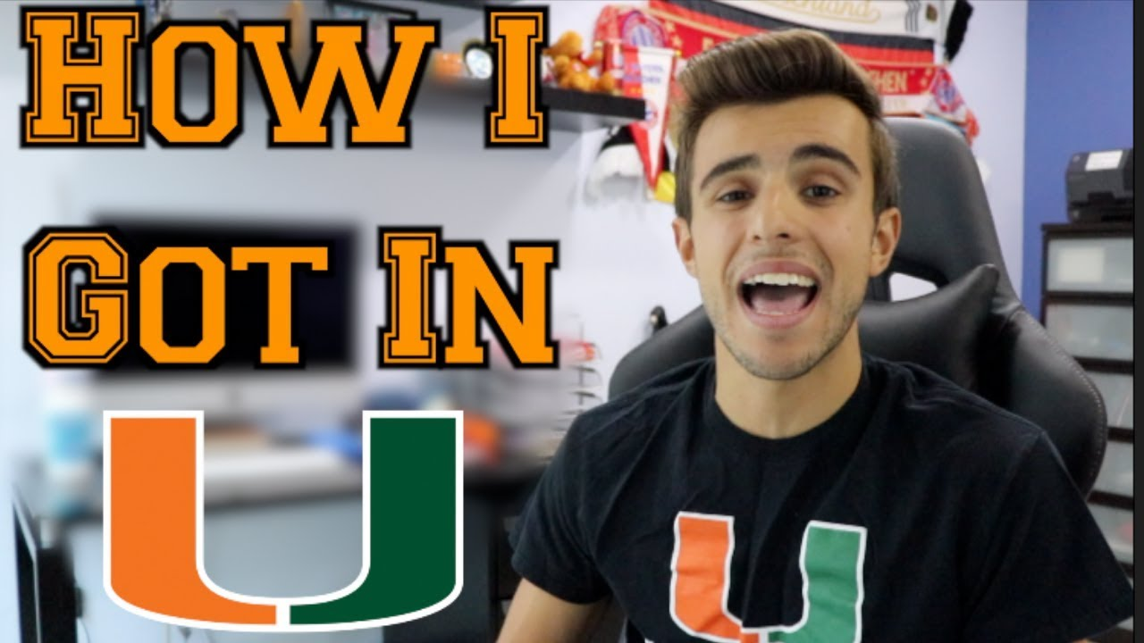 HOW I GOT INTO THE UNIVERSITY OF MIAMI: GPA + SAT/ACT *EXPOSED*