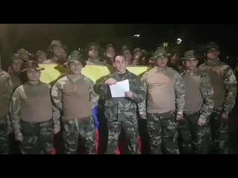 Militares de Venezuela desconocen a Maduro como su presidente