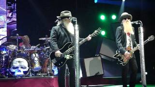 ZZ Top Sharp Dressed Man, Live Texas