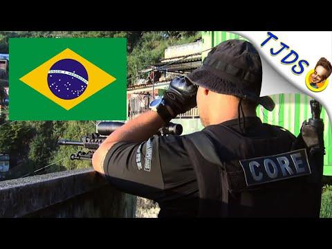 Criminals Force Lockdown In Brazil Over Virus