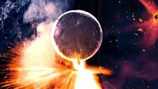 Inside Exploding Giant Firework Shell (3200 FPS Slow Motion)