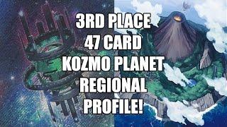 Alex Moffat 3rd Place 47 Card Planet Kozmo Birmingham, England Regional April 2016