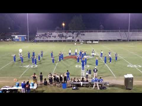 Halftime Show 09-07-18 Vidalia High School Marching Band