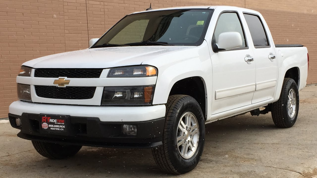 2011 Chevrolet Colorado Lt 4wd Crew Cab Alloy Wheels Power Windows Locks Huge Value