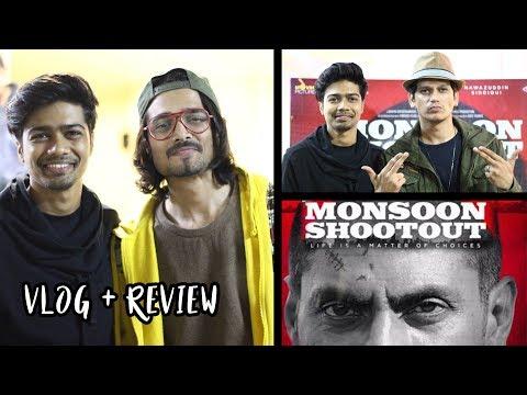 """Monsoon Shootout"" Vlog ft. BB ki Vines | Special Screening"