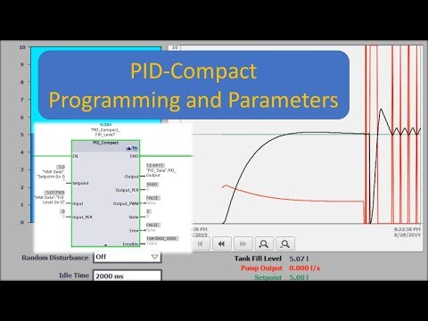 TIA Portal: PID Compact - How To Program And Use It!