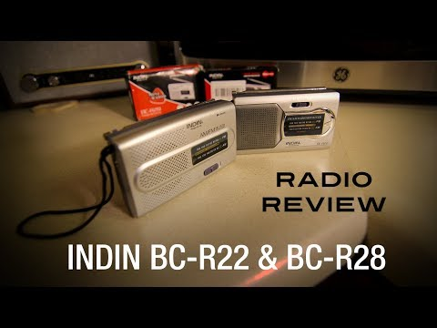 Cheap & Cheerful Chinese Radio Review #3 - INDIN BC-R22 & BC-R28 Review