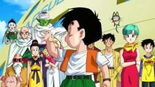 Repeat youtube video Dragon Ball Z Kai Opening 2   Kuu Zen Zetsu Go HD 720P