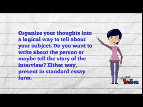 Writing an interview report