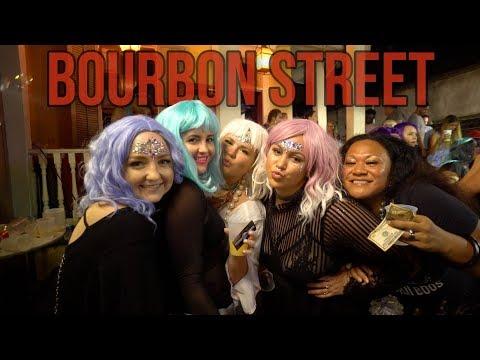 DRUNK NEW ORLEANS NIGHTLIFE! - Bourbon Street Craziness