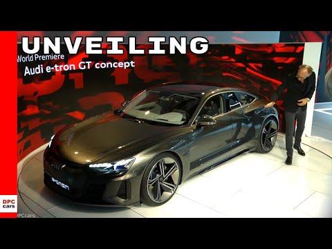 Audi e-tron GT Concept Unveiling