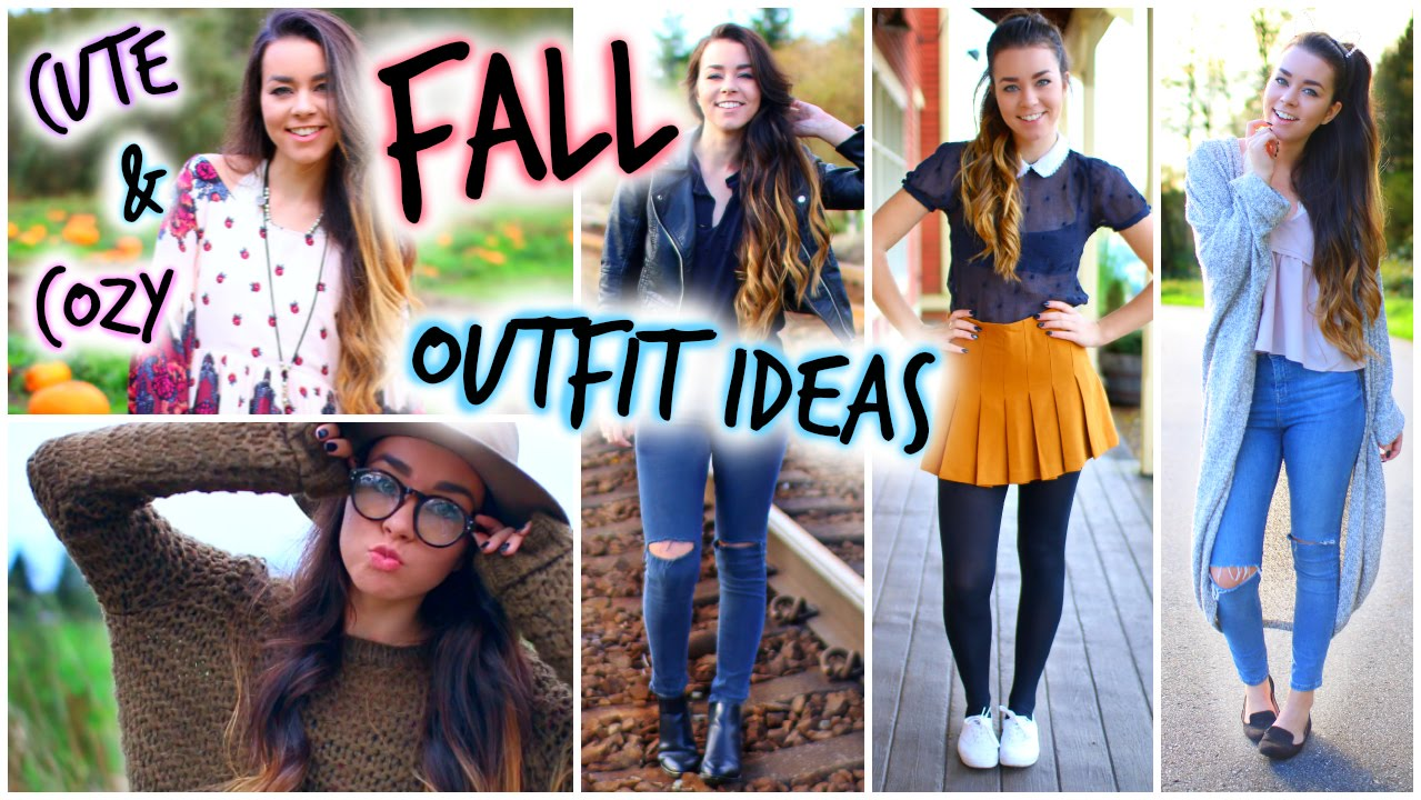 e56aed506d Cute and Cozy Fall Outfit Ideas! - YouTube