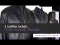 3 Leather Jackets Collection By Paccilo Amazon Fashion 2017 Collection