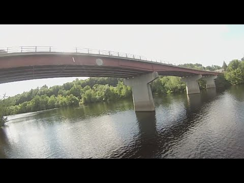 Hooksett NH Bridge Jump