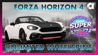 Forza Horizon 4 - UNLIMITED WHEELSPINS/MONEY - Working October 2018