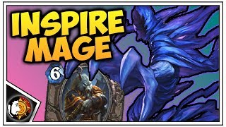 Hearthstone: Even Inspire Mage - Hero Power Mage - Rise Of Shadows