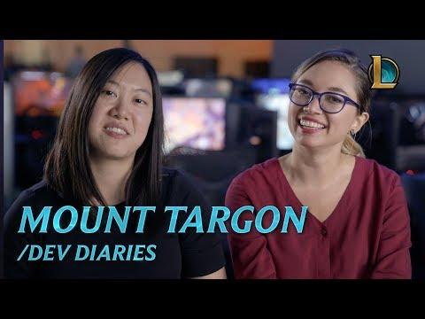 Journey to Mount Targon   /dev diary - League of Legends