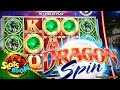 Dragon Spin BONUSES & LIVE PLAY !!!  - 2c Bally Video Slot