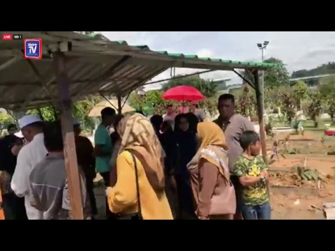 Temu bual bersama Isteri Allahyarham Saleem di Tanah Perkuburan Islam Cheras