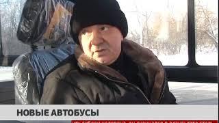 Новые автобусы. Новости 07/02/2018. GuberniaTV