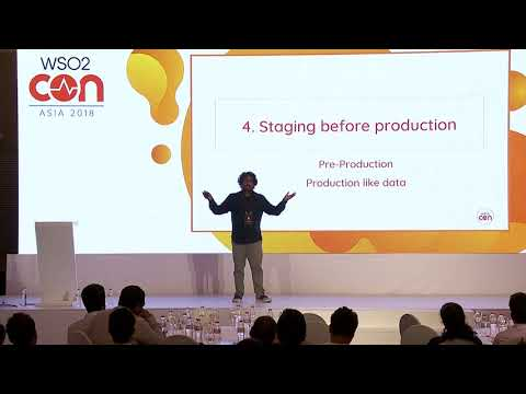 Designing the Continous - Pipeline, WSO2Con Asia 2018