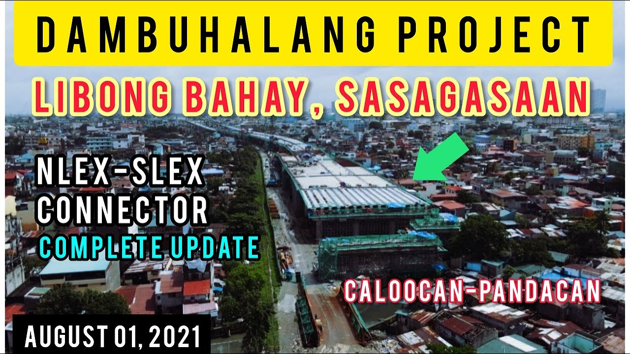 COMPLETE UPDATE! NLEX-SLEX CONNECTOR PROJECT! AERIAL TOUR FROM CALOOCAN, TONDO, STA. MESA & PANDACAN