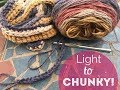 Make your Thin Yarn Chunky!  - How-to - Tutorial