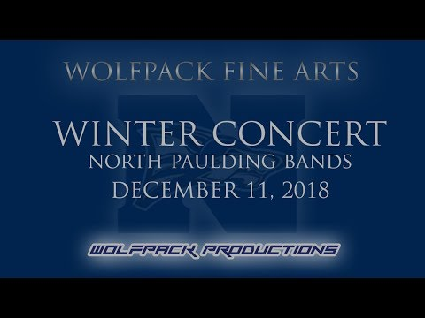Fine Arts: North Paulding Winter Band Concert (12/11/2018)