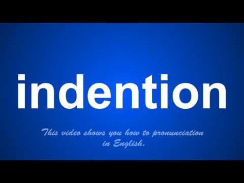 the correct pronunciation of indexical in English.