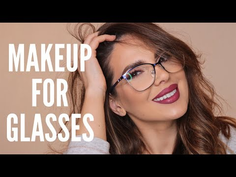 HOW TO DO YOUR MAKEUP IF YOU WEAR GLASSES | ALI ANDREEA