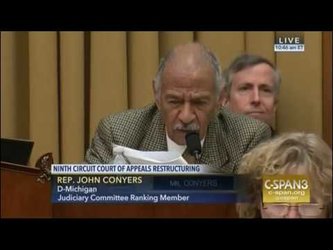 Ranking Member Conyers Opening Remarks on Breaking up the 9th Circuit 3/16/17