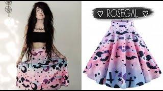 Accesorios && ropa para niñas EMO como Natii Lovato Quiinn - Haul Rosegal