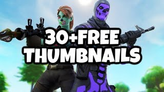 30 + FREE 3D Fortnite Thumbnails - HIGH QUALITY 🔥