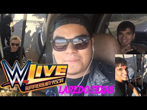Vlog #2 Going to Laredo,Texas for WWE Live  7/10/17