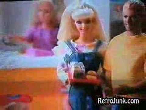 Barbie McDonalds Resturant commercial