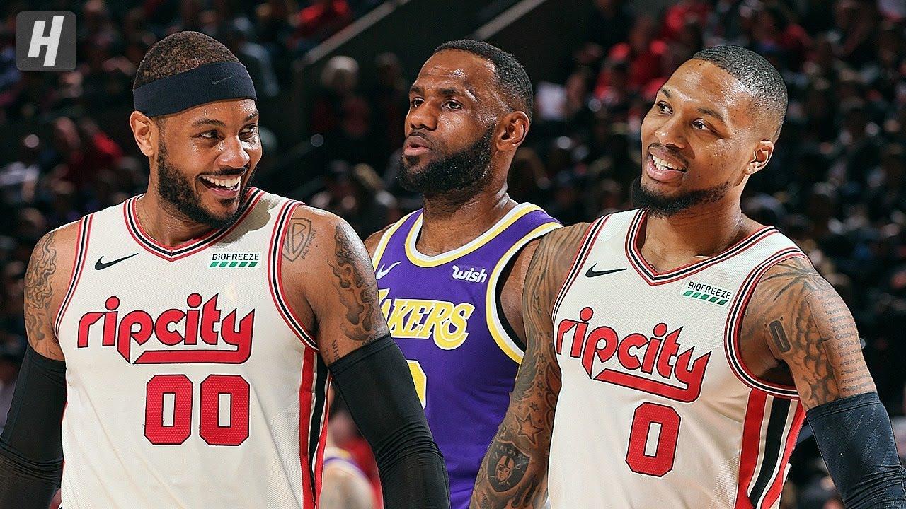Los Angeles Lakers vs Portland Trail Blazers - Full Highlights ...